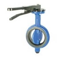 Затвор дисковый межфланцевый с рукояткой - Модель 107