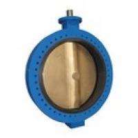 Затвор дисковый фланцевый с пневмоприводом - Модель 116