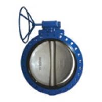 Затвор дисковый фланцевый с редуктором - Модель 116